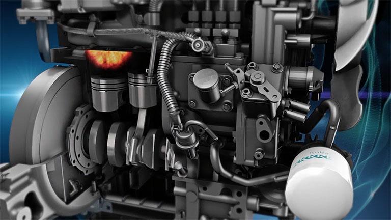 エンジンの内部構造CG
