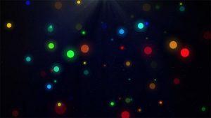 CGカラフルな光
