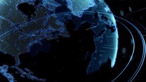 CG地球グローバル背景素材