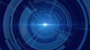 CGサイバーなトンネルのイメージ