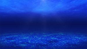 海底のCGイメージ