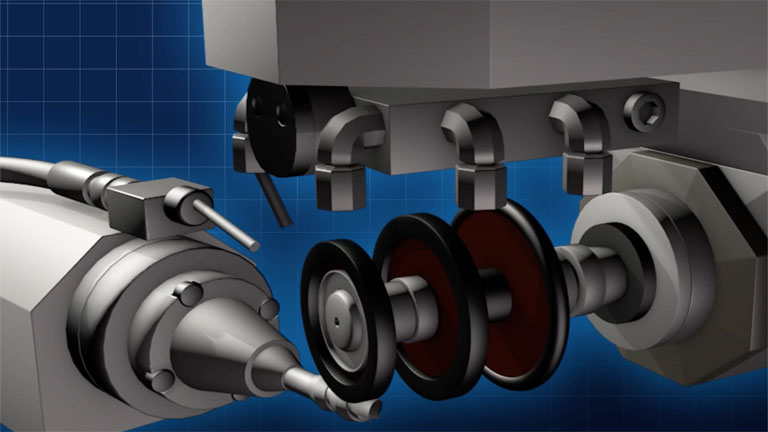 工作機械のCGイメージ