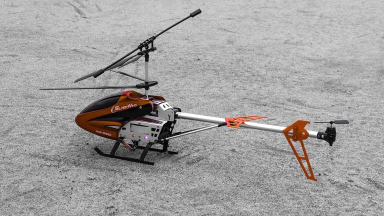 ヘリのラジコンの引き