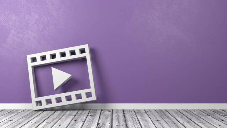 動画のロゴマーク