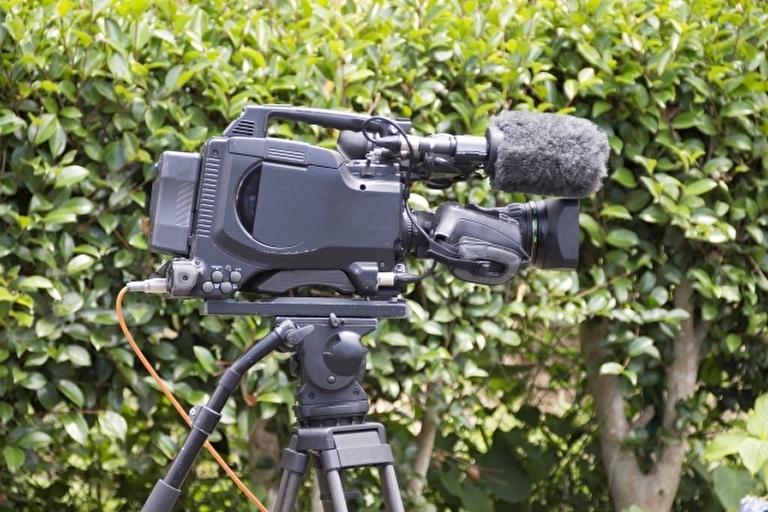 映像制作会社の撮影機材