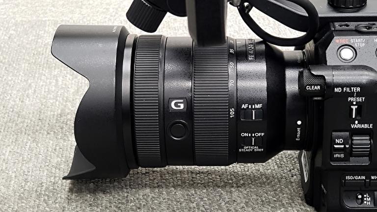 映像制作会社のカメラ
